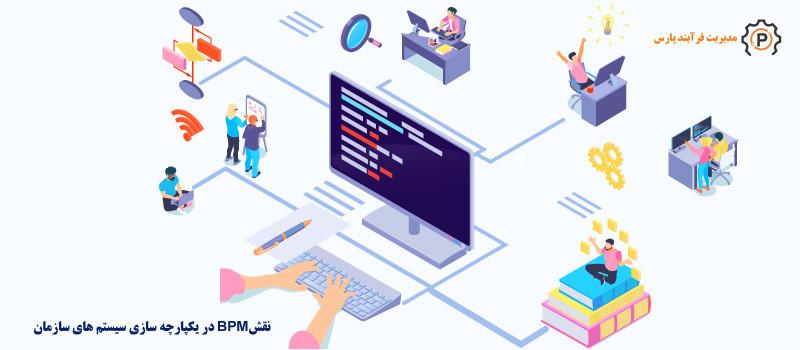 نقش BPMS در یکپارچه سازی سیستم های سازمان